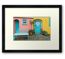 The colours of Portmeirion Framed Print