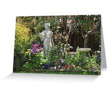 ~` Cottage Gardening `~ Greeting Card