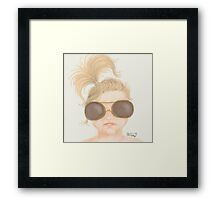 Cool Babe Framed Print