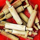 Wooden Pins by MsGourmet