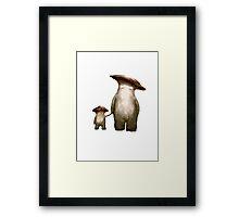 Mushroom People Framed Print