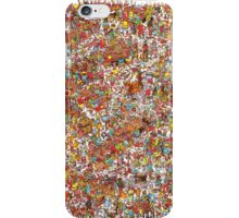 Where is wally in this product? iPhone Case/Skin