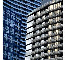 City Shapes II Photographic Print