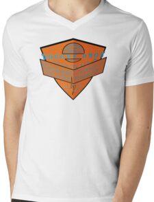 usa la tshirt by rogers bros Mens V-Neck T-Shirt
