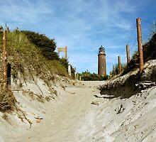 MVP11 Darss lighthouse, Mecklenburg Vorpommern, Germany, 2005. by David A. L. Davies