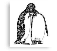 Penguin Hug Canvas Print