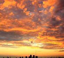 Burning Sky by Arvind Singh