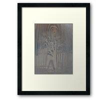Woody Landscape Framed Print