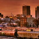 Morning Express - Winnipeg by Réjean Brandt