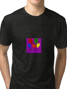 Love Travels as  a Balloon With Swiftness... Tri-blend T-Shirt