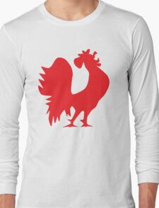 Pun Rooster Long Sleeve T-Shirt