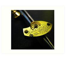 Waltham Cravat Pin- Steampunk, Victorian Art Print