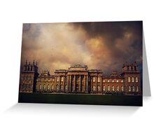 Blenheim Palace Greeting Card