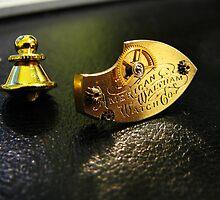 Waltham Cravat Pin- Steampunk, Victorian by Kristi B