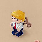 Office Space (EP illustration) by Nathan Davis