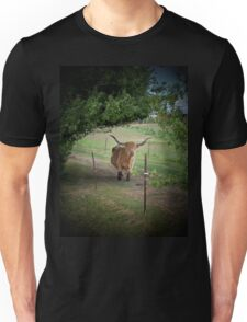 Cow Talk At The Fence Unisex T-Shirt