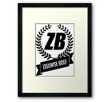 Zeeuwse Boef Framed Print