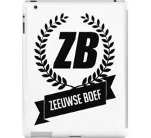 Zeeuwse Boef iPad Case/Skin