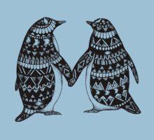 Penguin Couple Kids Clothes