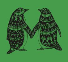 Penguin Couple Baby Tee
