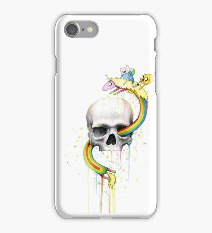 Deathventure Time! iPhone Case/Skin