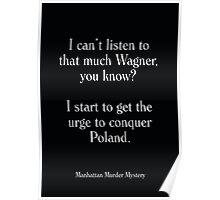 Manhattan Murder Mystery - Woody Allen's Greatest Lines Poster