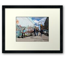 Saturday Fair Framed Print