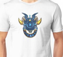 Blue DragonFlight Crest no/BG Unisex T-Shirt