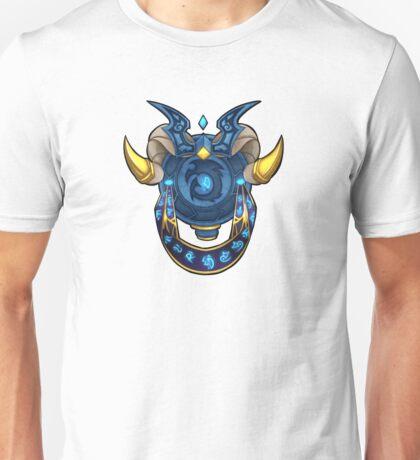 Blue DragonFlight Crest no/BG Unisex T-Shirt
