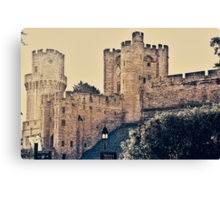 WARWICK  CASTLE ....! Canvas Print