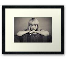 Eye Contact Framed Print