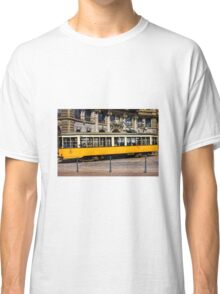Vintage tram in Milano, ITALY Classic T-Shirt