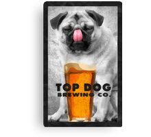 Top Dog Brewing Co. Canvas Print
