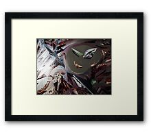 Cartoon Protagonist  Framed Print