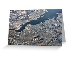 Providence River Estuary Greeting Card