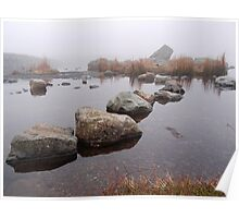 Stepping Stones into the Mist Poster