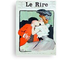 Jules Alexandre Grün Le Rire Embrace Canvas Print