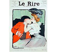 Jules Alexandre Grün Le Rire Embrace Photographic Print