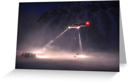 Super Puma Rescue Operation by Algot Kristoffer Peterson