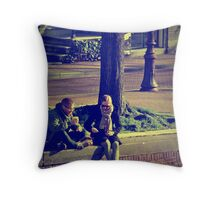 Midday Rendezvous Throw Pillow