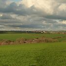 Panorama of Coldridge by Rob Hawkins