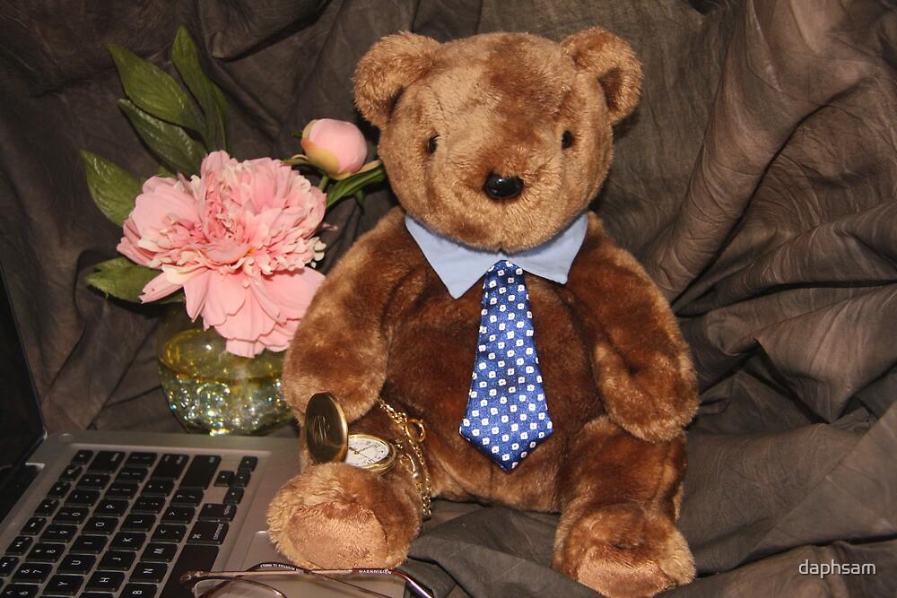 Working Teddy Bear by daphsam