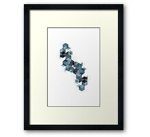 Cube Architec Framed Print