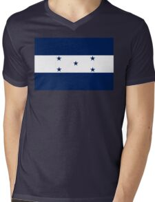 Honduras Air Force Insignia Mens V-Neck T-Shirt