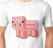 Minecraft Pig Unisex T-Shirt