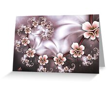 CryingJapaneseBlossom Greeting Card