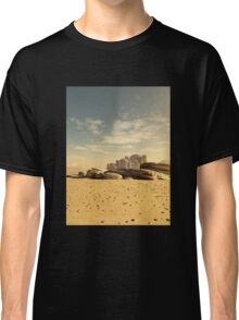Desert Town Swallowed by the Sand Classic T-Shirt