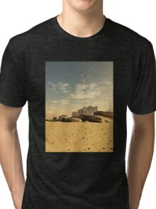 Desert Town Swallowed by the Sand Tri-blend T-Shirt