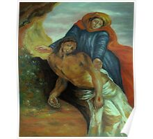 Pieta, after Delacroix Poster