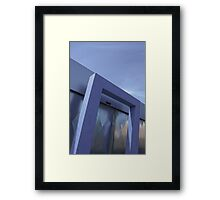 Let me fade those blues away Framed Print